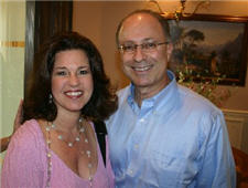 Attorney and Mediator Carey Fisher and wife, Ellen