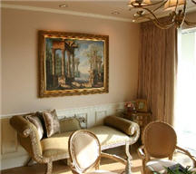 Italian Rennaisance style is part of the firm's decor
