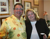 Attorneys Jeff Fenster and Stacey Cohen